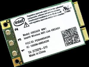 Intel Wireless WiFi Link 4965AGN
