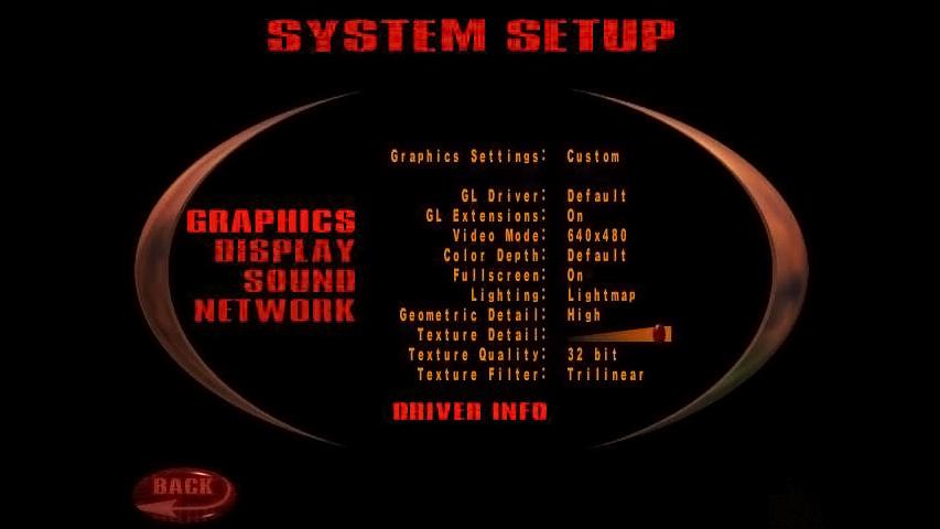 Quake 3 Graphics Settings