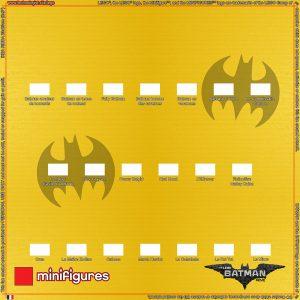 71017 LEGO Batman Film Minifigures Série 1 Contexte