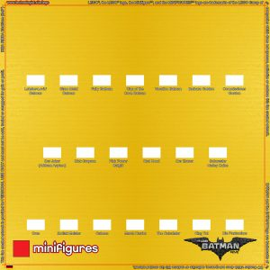 71017 LEGO Batman Film Minifiguren Serie 1 Hintergrund