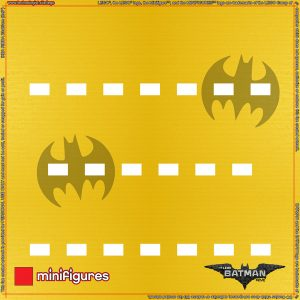 71017 LEGO Batman Movie Minifigures Series 1 Background