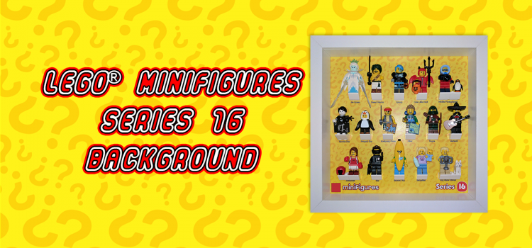 LEGO Minifigures Series 16 Background