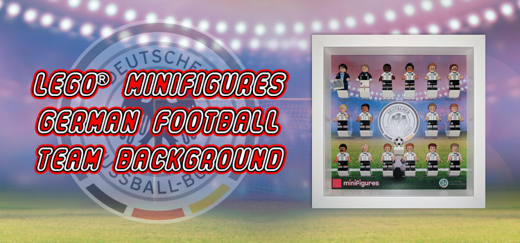 LEGO Minifigures German Football Team Background