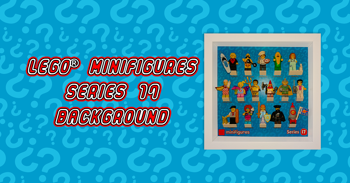 LEGO Minifigures Series 17 Background