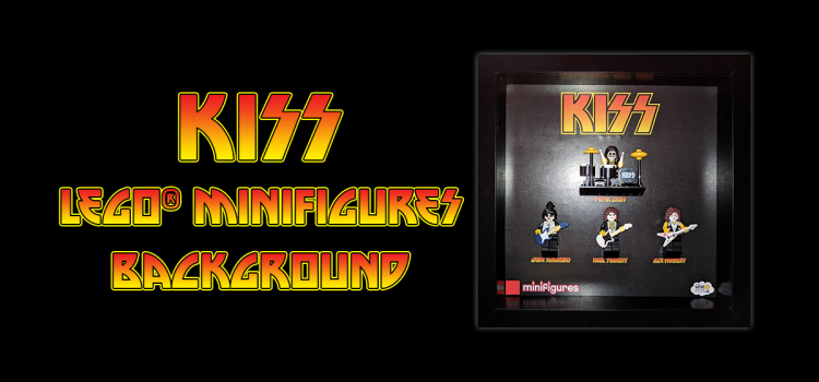 KISS LEGO Minifigures Background