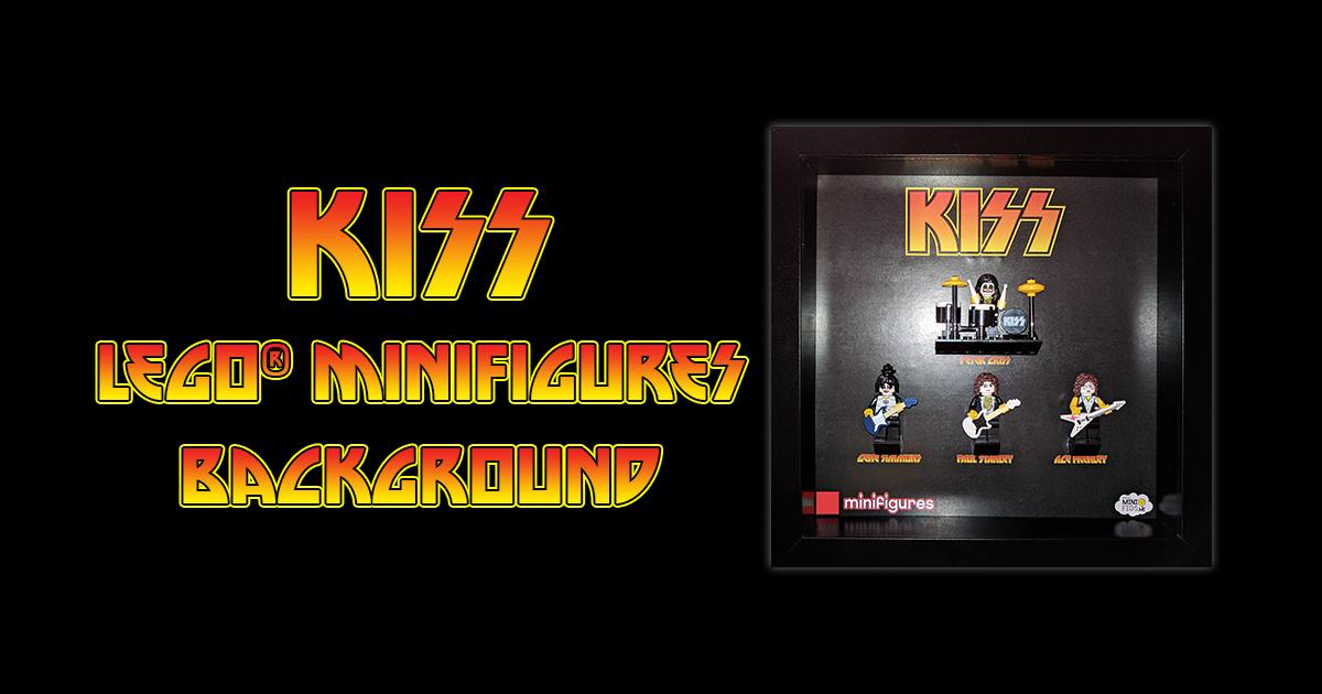 KISS LEGO Minifigures Background
