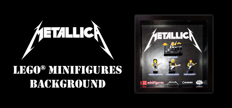 Metallica LEGO Minifigures Background
