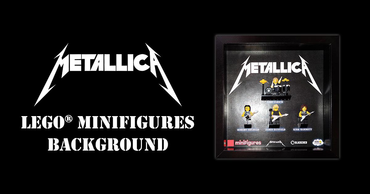 Metallica LEGO Minifigures Background