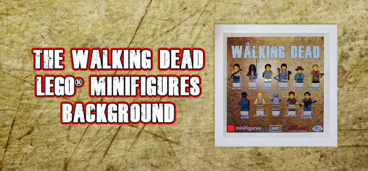 The Walking Dead LEGO Minifigures Background