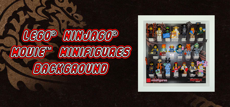 LEGO Ninjago Movie Minifigures Background
