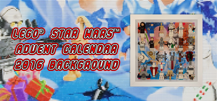 LEGO Star Wars Advent Calendar 2016 Background
