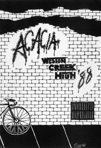 Weston Creek High School Acacia Magazine 1988 Front Cover