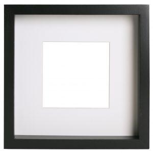 "IKEA RIBBA Black Frame 23×23cm 9×9"""