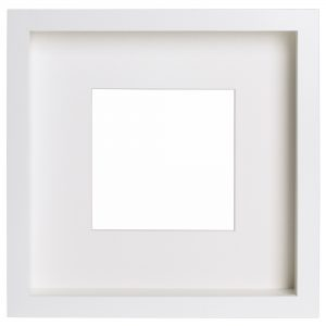 "IKEA RIBBA White Frame 23×23cm 9×9"""