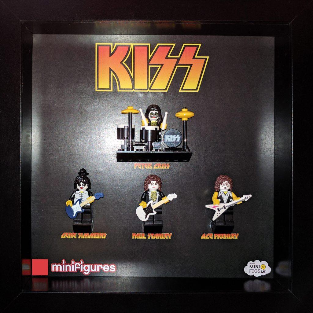 KISS LEGO Minifigures