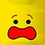 LEGO Yellow Scared Head