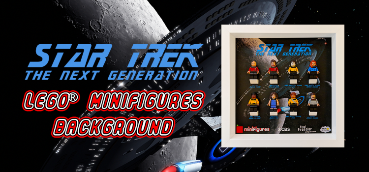 Star Trek: The Next Generation LEGO<sup>®</sup> Minifigures Background