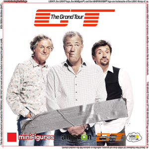 The Grand Tour LEGO<sup>®</sup> Minifigures Background for IKEA<sup>®</sup> RIBBA Frame