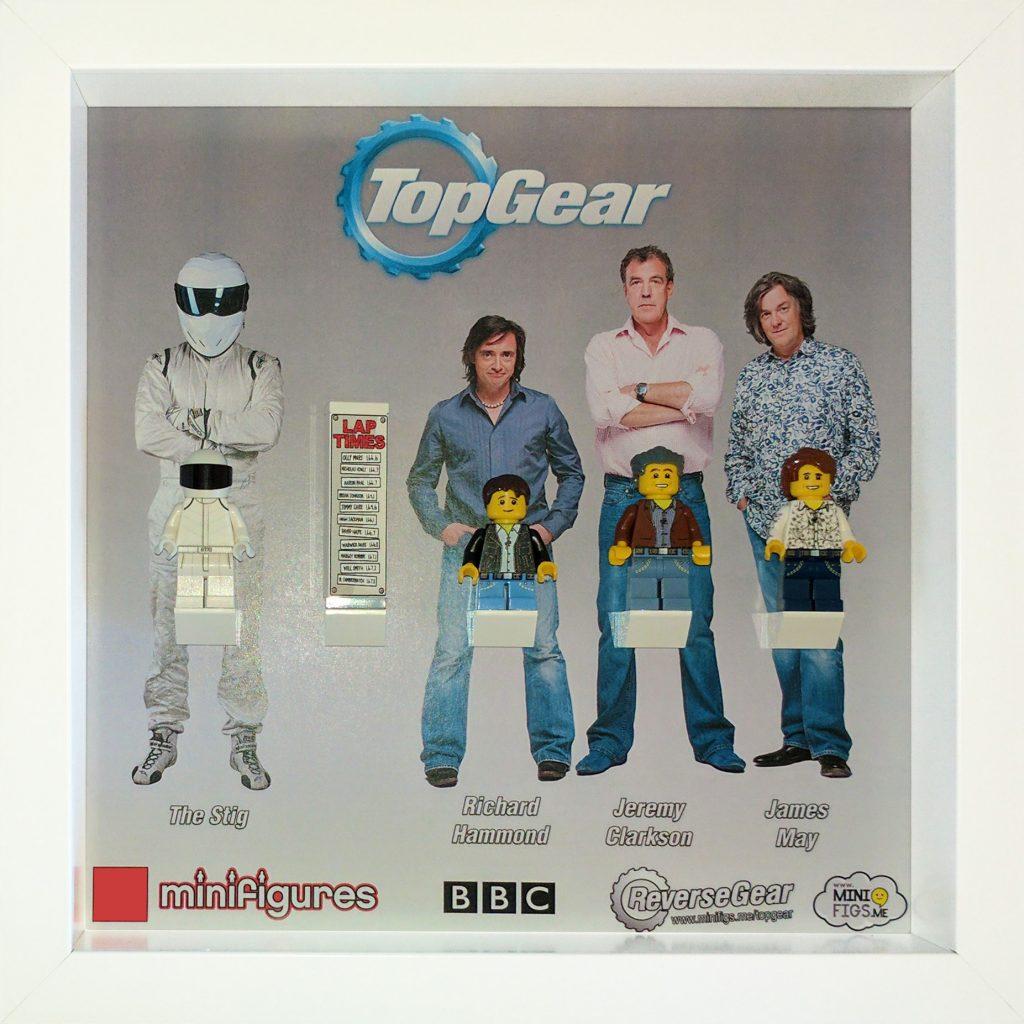 Top Gear LEGO Minifigures