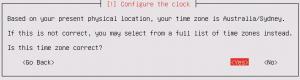 Ubuntu Server Install: Configure the clock