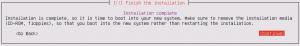 Ubuntu Server Install: Finish the installation