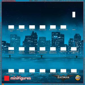 El fondo de LEGO<sup>®</sup> Batman Movie Minifigures Series 2 para IKEA<sup>®</sup> RIBBA Frame