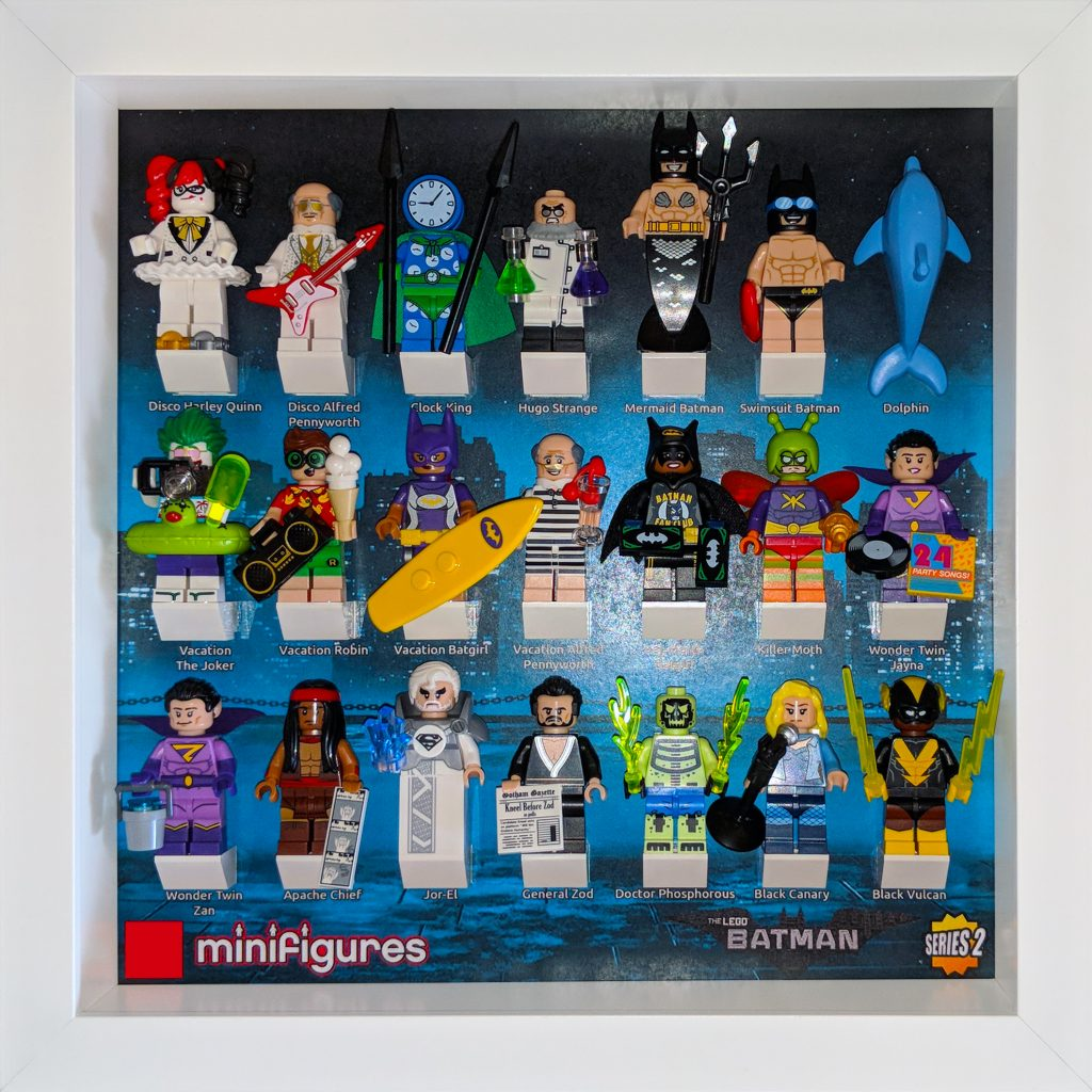 Lego 174 Batman Movie Minifigures Series 2 Background The