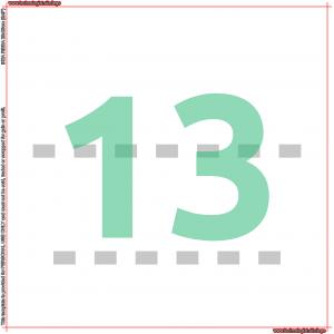 IKEA RIBBA 23 Minifigures Template 7/6 13