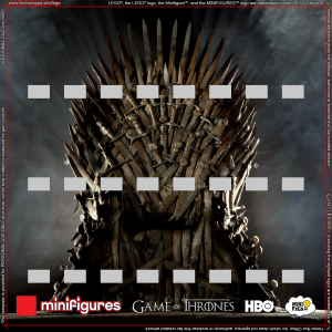Game of Thrones LEGO<sup>®</sup> Minifigures Background