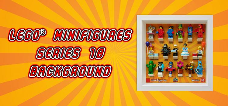 LEGO Minifigures Series 18 Background