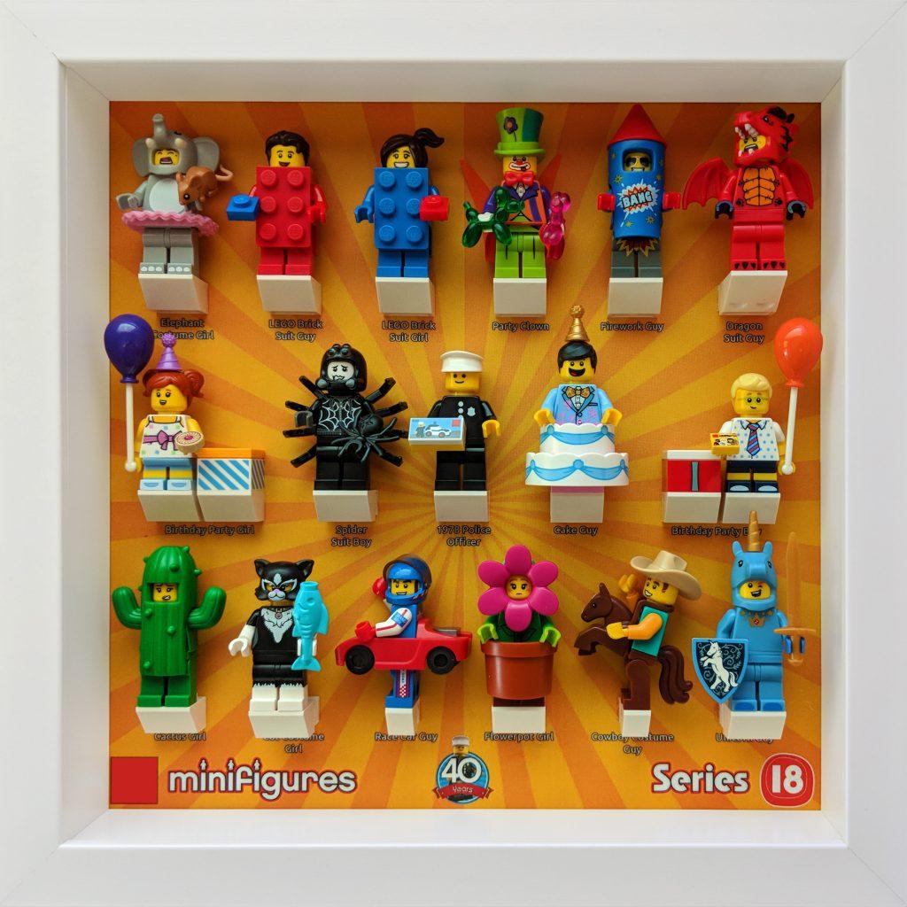 Lego Mini Figure Series 18 Elephant Girl