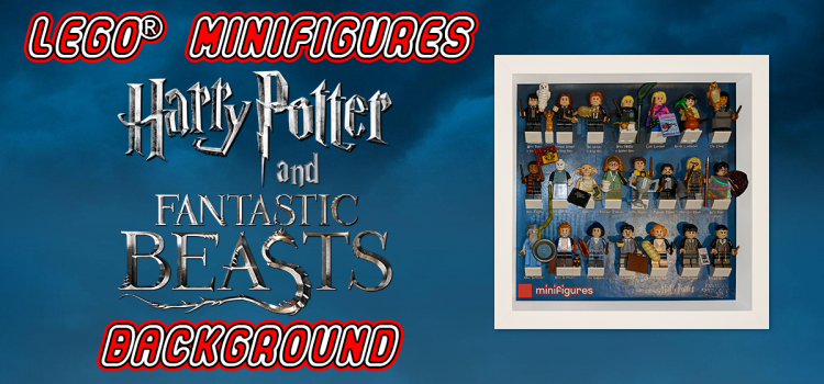 LEGO Minifigures Harry Potter and Fantastic Beasts Background
