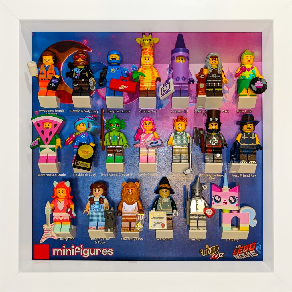 Lego Minifigures The Lego Movie 2 Frame Background The Technologist