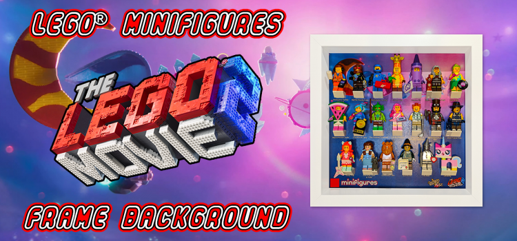 LEGO Minifigures The LEGO Movie 2 Frame Background