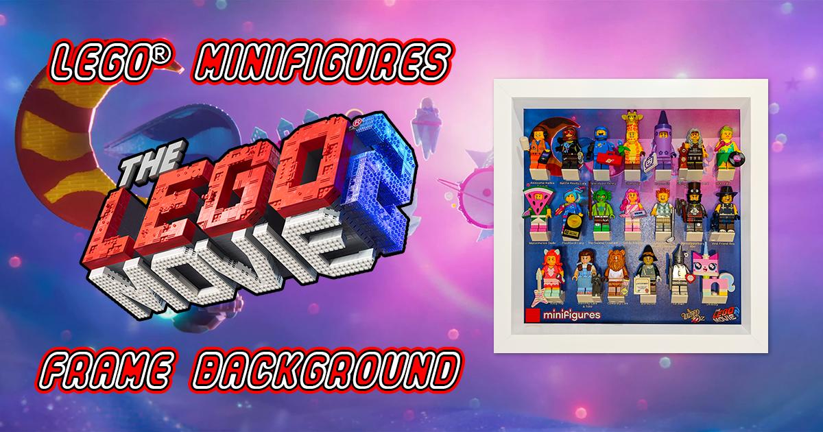 LEGO Minifigures The LEGO Movie 2 Frame Background