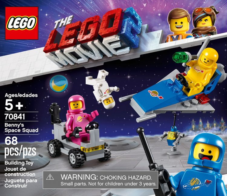 70841 Benny's Space Squad Box Art Front