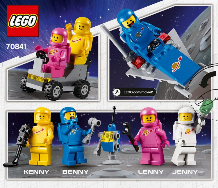 70841 Benny's Space Squad Box Art Rear