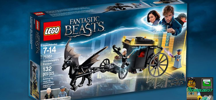 LEGO® Fantastic Beasts™ 75951 Grindelwald's Escape