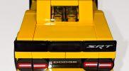 LEGO Speed Champions 75893 2018 Dodge Challenger SRT Demon (Rear)
